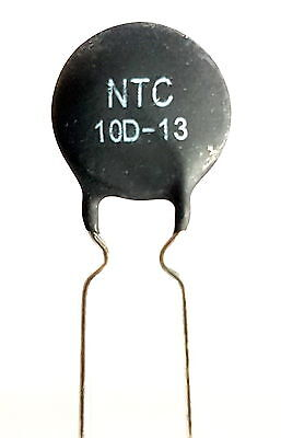 2 x NTC 10D-13 Inrush Current Limiter, Power Thermistor 10 ohm 4Amp -ref:381
