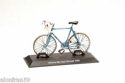 Collection  Bicycle 1:15 Gitane Bernard Hinault 1980-  Metal Model- BIC027