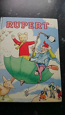 Rupert The bear Annual from 1988, unclipped and named.