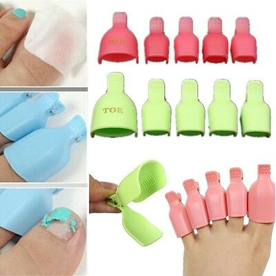 10pc/Set Beauty Personal Care Tool Suction Manicure Nail Polish Remover