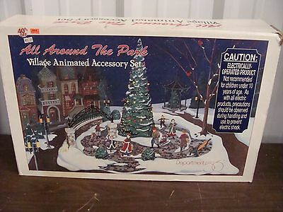 "Dept 56 ""All Around the Park"" Village Animated AccessorySet #5247-7**SHIPS FREE!"