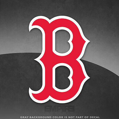 boston red sox logo vinyl decal sticker mlb 4 and larger sizes