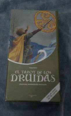 Tarot de los druidas (Ciencias humanas) (Set)_ 78 cartas + Libro_New Sealed