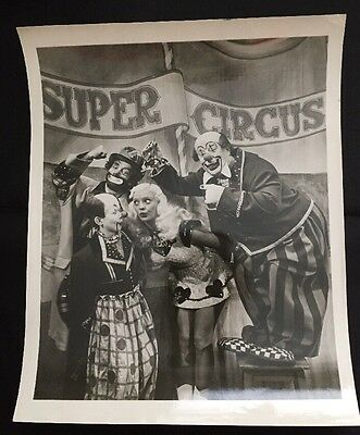 Under The Mistletoe With Mary Hartline &Super Circus Clowns.Autographed To Buyer