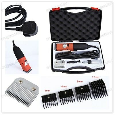 Pet Cat Dog Hair Trimmer 35W Grooming Clipper Animal Comb Shaver Haircut Kit UK