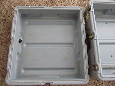 """HARDIGG SHIPPING CONTAINER TRAVEL CASE 20.5""""X22.5""""X12"""" Inside Area"""