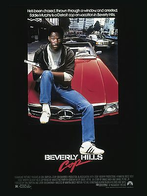 """Beverley Hills Cop 16"""" x 12"""" Reproduction Movie Poster Photograph"""