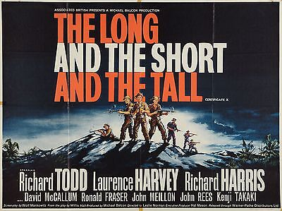 """The Long and the short and the tall 16"""" x 12"""" Reproduction Movie Poster Photo"""