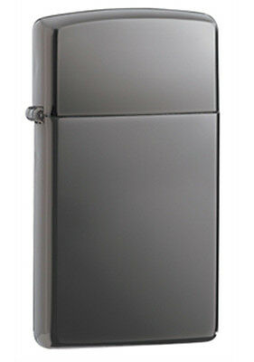 Zippo Black Ice Lighter - Slim 20492 Genuine