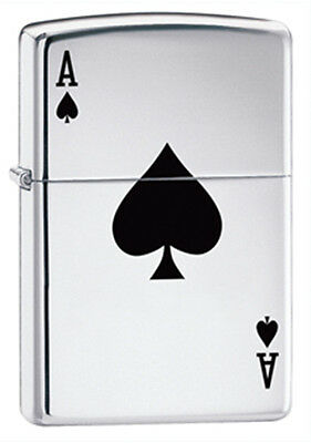 Zippo Lucky Ace Lighter - Full Size 24011 Genuine