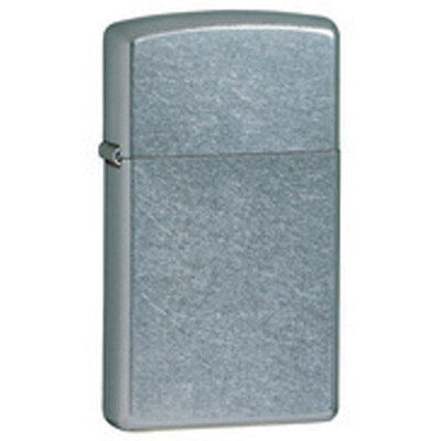 Zippo Street Chrome Lighter - Slim 1607 Genuine