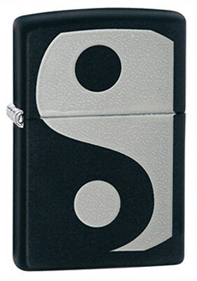 Zippo Yin Yang Black Matte Lighter - Full Size 24472