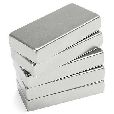1Pc N52 Super Strong Block Cuboid Magnet 50x25x10mm Rare Earth Neodymium