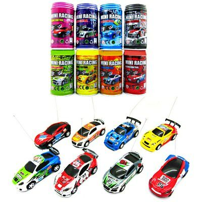 Coke Can Mini 1 : 63 Radio Remote Control Micro Racing Car Toy Vehicle Kid Gifts
