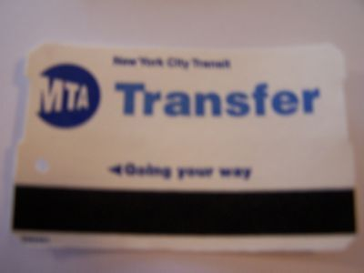 Metro Card Transfer First Issue 01/1995 In Plastic Case Very Rare