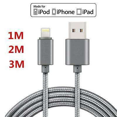 Cable For Iphone 6s 7 Plus 10FT Extra Long Premium Nylon USB Charger !