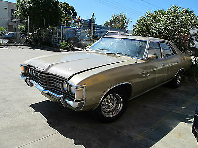 Ford Zg Fairlane K Code Matching Numbers Factory Golde Sunroof P/s 351 Cleveland