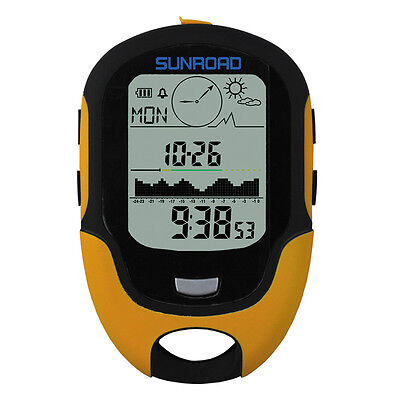 SUNROAD Outdoor FR500 Altitude/Temperature/Humidity/Air Pressure Meter Compass