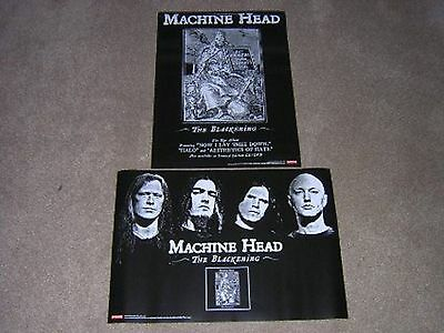 Machine Head -The Blackening- Rare Official Record Company Promo Poster