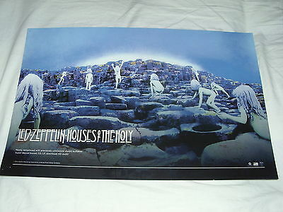 Led Zeppelin -Houses Of The Holy- Rare Official Record Co. Promo Poster