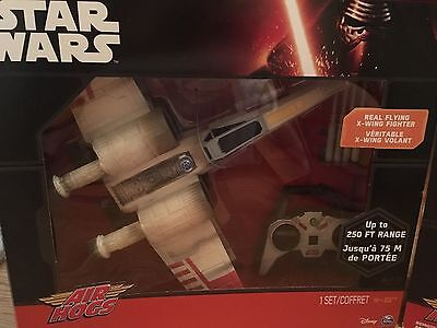 2 Star Wars Air Hogs... Millennium Falcon Battle Edition and X-Wing