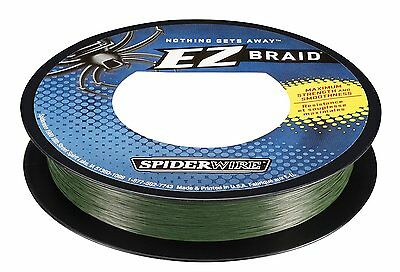Spiderwire Ez Braid Moss Green Dyneema Fishing Line Value Pack 10-50Lbs 300Yd