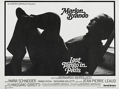 "Last Tango in Paris 16"" x 12"" Reproduction Movie Poster Photograph"
