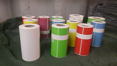 Emona ProTag OPT CK23 Electrical Test and Tag Printer Labels Rolls of 250 Labels