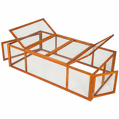 Rabbit enclosure XXL hare pet cage guinea pig large stall playpen hutch run
