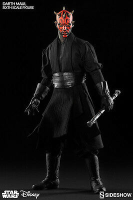 Star Wars - Darth Maul Duel Of Naboo 1/6 Actionfigur Sideshow No Hot Toys