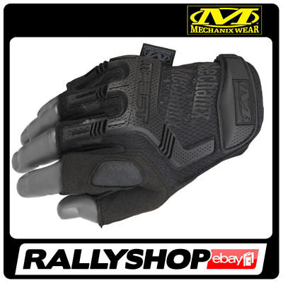 MECHANIX Gloves M-Pact Fingerless Mechanic Black feel WORK Maintenance Repair