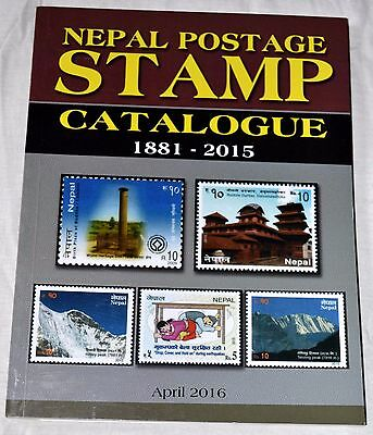 NEPAL : Latest CATALOGUE of Nepal Postage Stamps from 1881 to 2015 AD, Brand New
