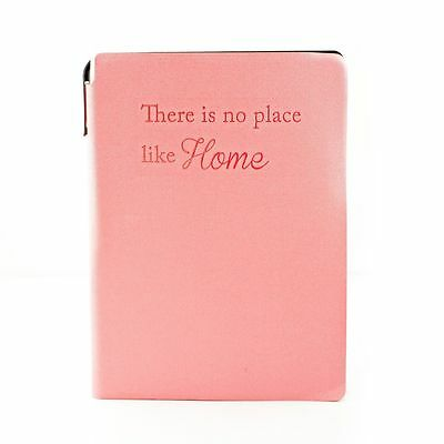 A-Z A5 Telephone Address Book Hardback Designer Fabric with Pen - Pink