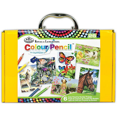 Color Pencil By Number Kit  RTN-201