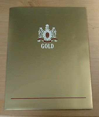 Pall Mall Cigarettes Gold 100's New packaging Literature from 1990