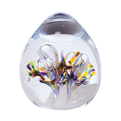 Caithness Abstract Moonbloom Paperweight