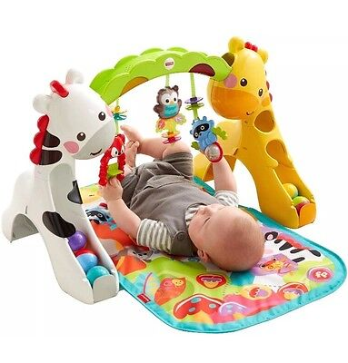 Fisher-Price Newborn to Toddler Play Gym, Baby Activity Centre - Cheapest Online