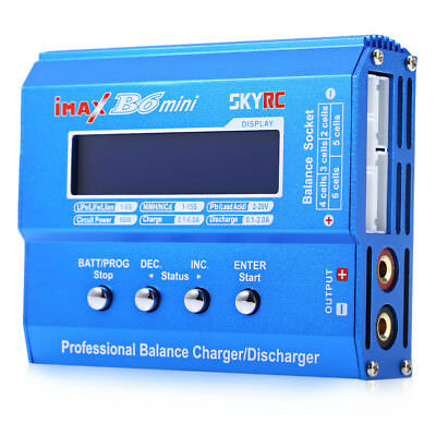 Pro SKYRC iMAX B6 Mini Balance Charger / Discharger for RC Aeromodelling Battery