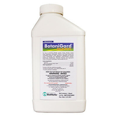 BotaniGard MAXX Quart Insect Control Mycoinsecticide 32oz.