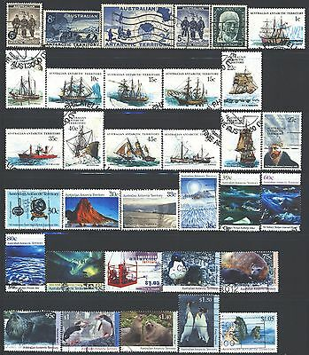 AUSTRALIAN ANTARCTIC TERRITORY Collection of 33 Used 1957-2017 Era All Different