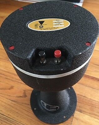 Vintage Jbl Le85 Drivers With H91 Horns From Jbl L200