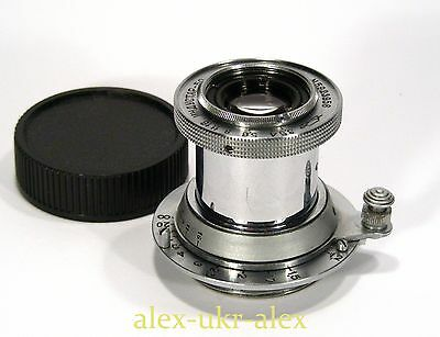 Russian Industar-50 collapsible 3,5/50 mm lens M39 Zorki mount.Exc+.№5923956