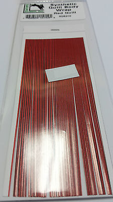 HARELINE   Synthetic QUILL BODY WRAP        RED QUILL