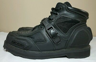 ICON Field Armor Chukka Motorcycle Boots Men's Size 11.5. Biker Cycle Trucker
