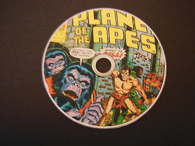 COMPLETE PLANET OF THE APES COMICS on DVD GREAT STORIES AND ARTWORK