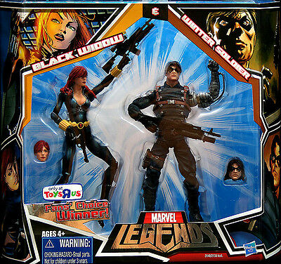 Marvel Legends Black Widow and Winter Soldier 2 Pack