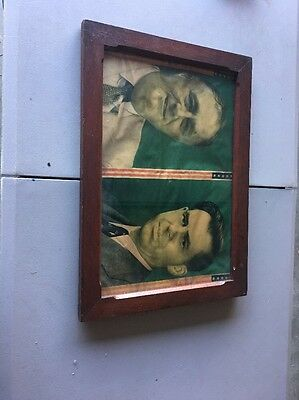 Franklin Roosevelt And Henry Wallace Framed President Political Rare