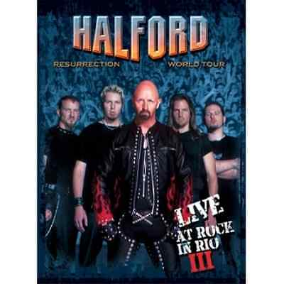 Halford: Resurrection World Tour - Live at Rock in Rio III  CD with DVD NEU