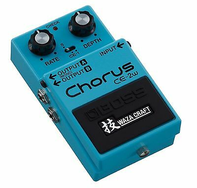 NEW 2016 Boss CE-2W Chorus Waza Craft Series Special Edition Made in Japan