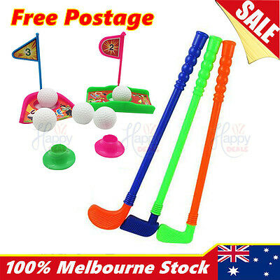 New Golf Set Kids Toddler Indoor Outdoor Gift Play Toy Childrens Pretend new